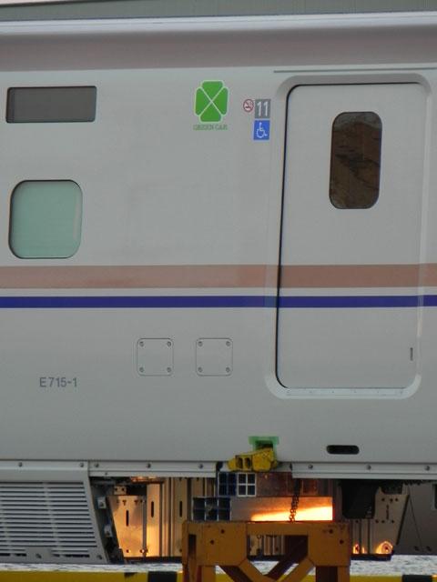 E7系F1編成11号車 E715-1: N0320...