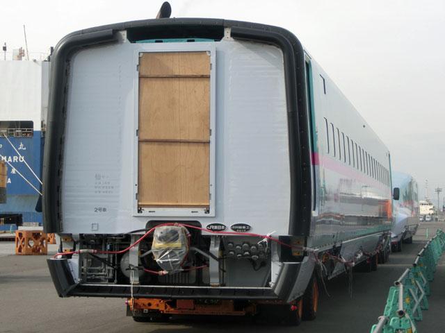 仙台港でE5系U29編成1、2、5、6...